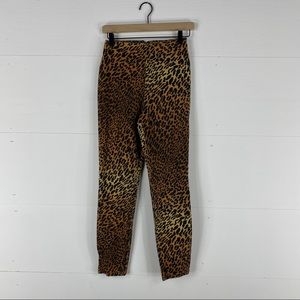 Made in the Shade Cheetah Print Jeans Size 7